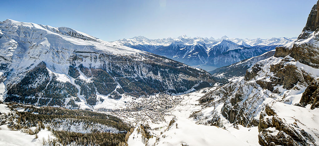 Leukerbad Winter